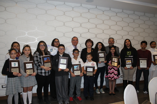 Students were recognized by the COBINAS representatives
